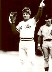 Pete Rose Breaking The Record 1984