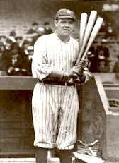Babe Ruth. Step Up To The Plate 1927