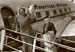 Babe Ruth. The Friendly Skies 1940