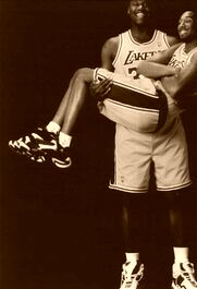 Kobe Bryant ∓ Shaquille ONeal L.A. Lakers 1998