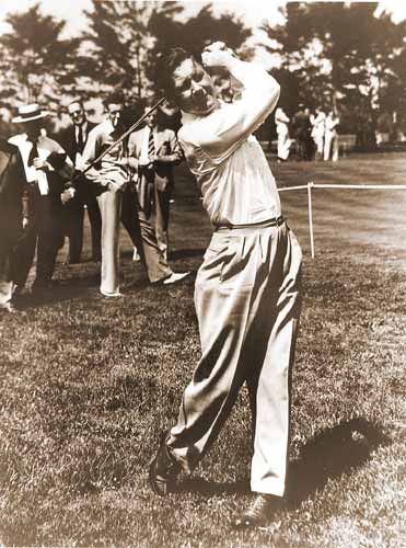 Vintage Golf Photographs. Byron Nelson 1951