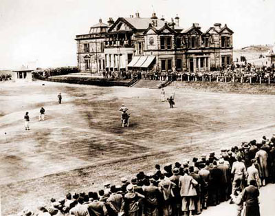 Vintage Golf Photographs. St Andrews The Royal and Ancient Golf Club. 1930
