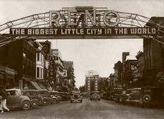 Reno Biggest Little City 1935