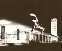 Las vegas. The Flamingo 1952