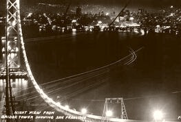 Above The Bay Bridge 1935