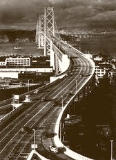 The Bay Bridge 1940
