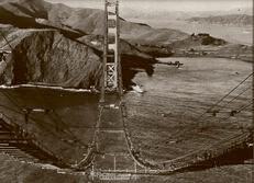 Above the Golden Gate 1935
