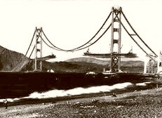 Building The Golden Gate 1936