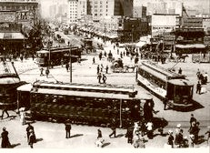 Market St. Car Turnaround 1910