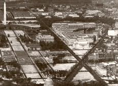 Federal Triangle And Capitol 1936